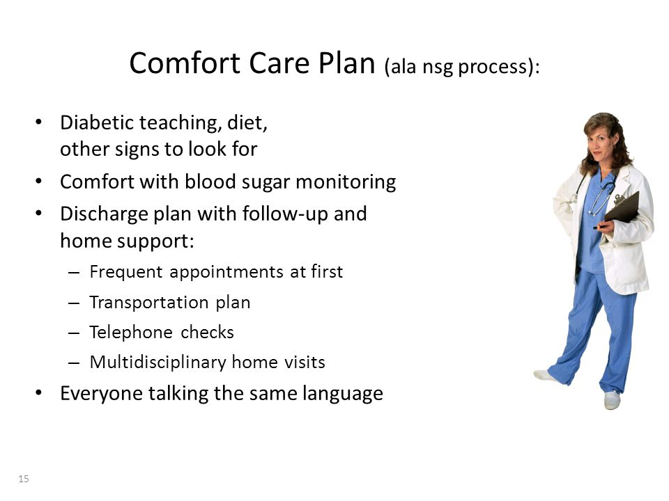 Comfort Care Plan (ala nsg process):