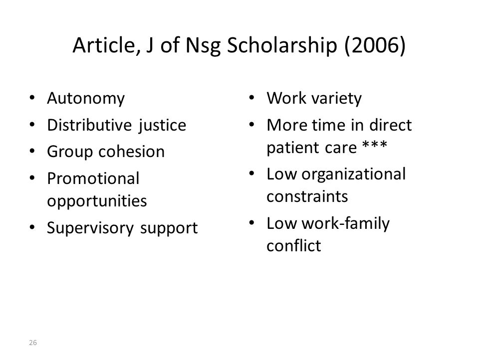 Article, J of Nsg Scholarship (2006)
