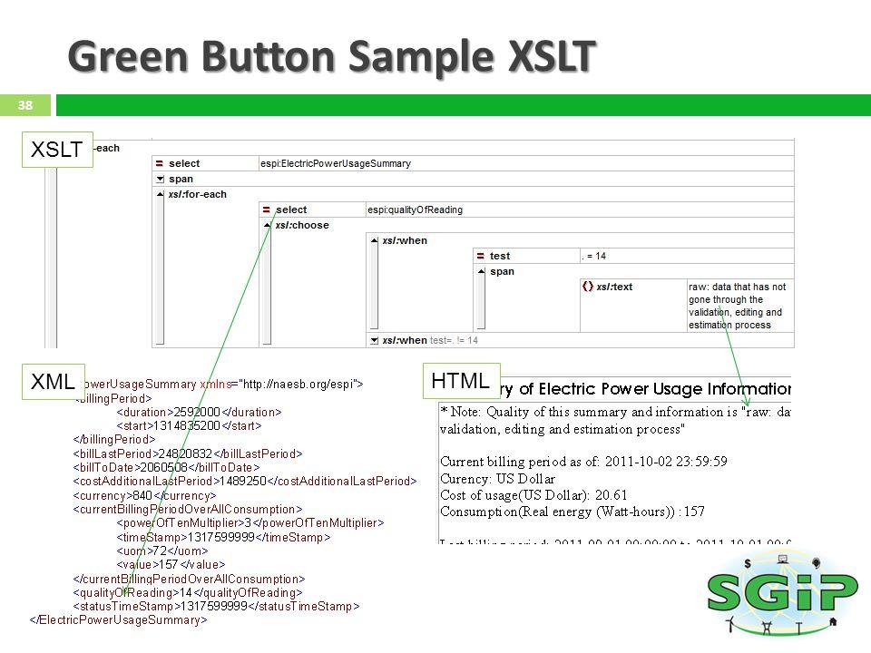 Green Button Sample XSLT