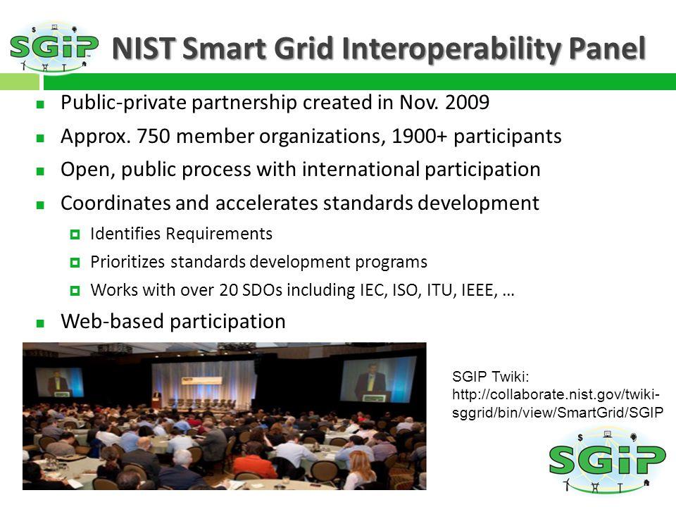 NIST Smart Grid Interoperability Panel