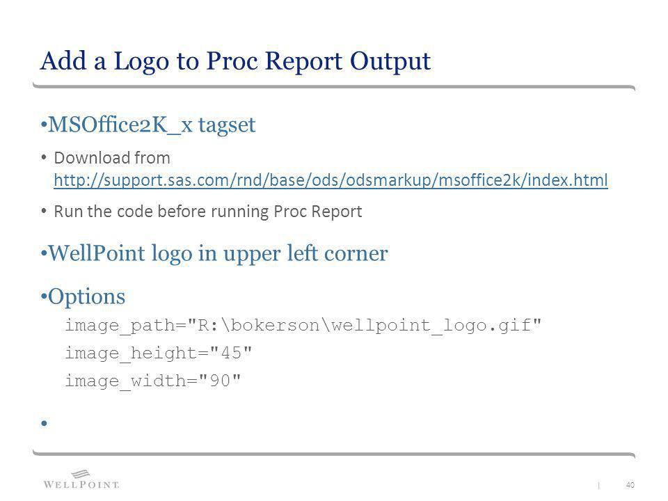 how to add logo in extent report