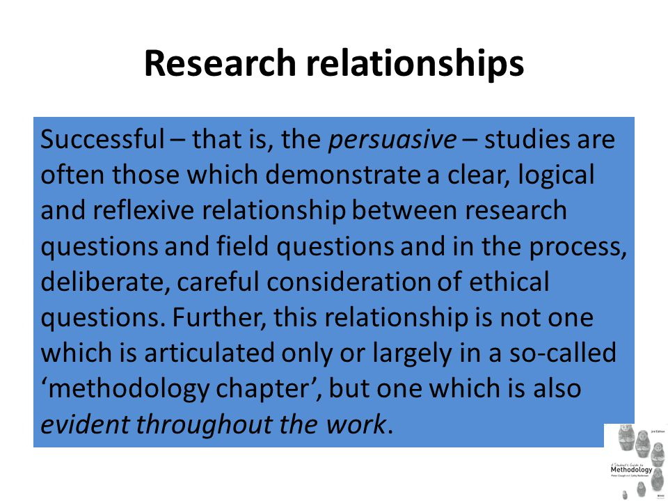 Research relationships