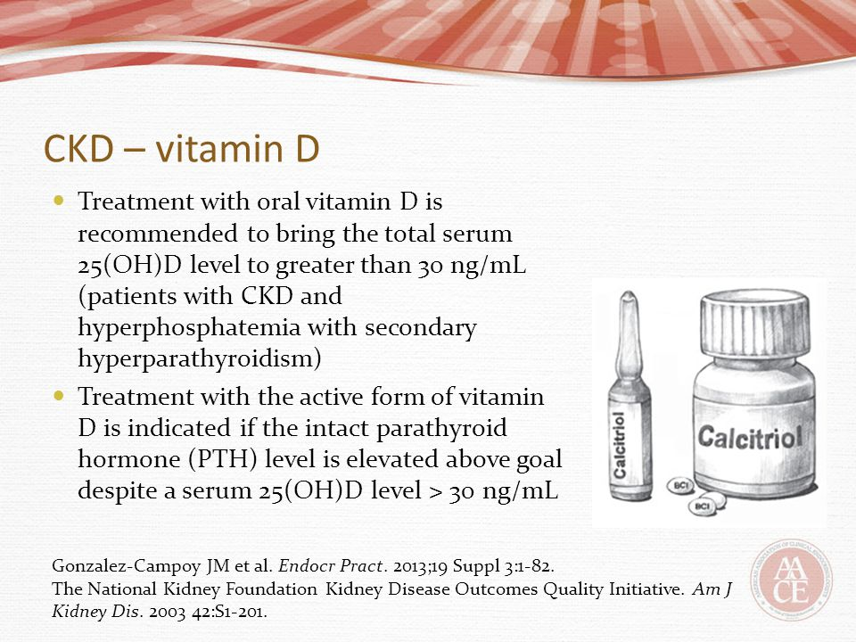 CKD – vitamin D