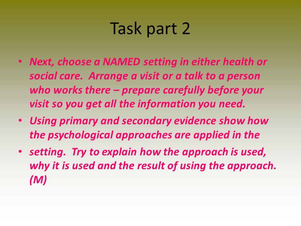 Task part 2