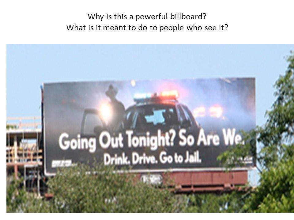 Why is this a powerful billboard