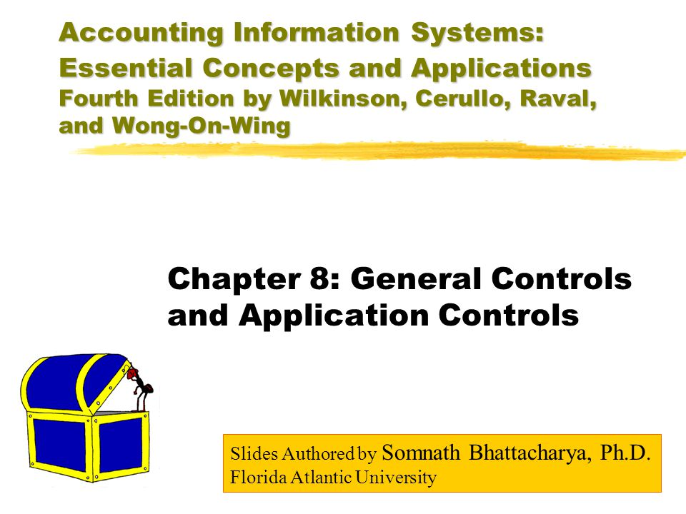 Chapter 8: General Controls and Application Controls