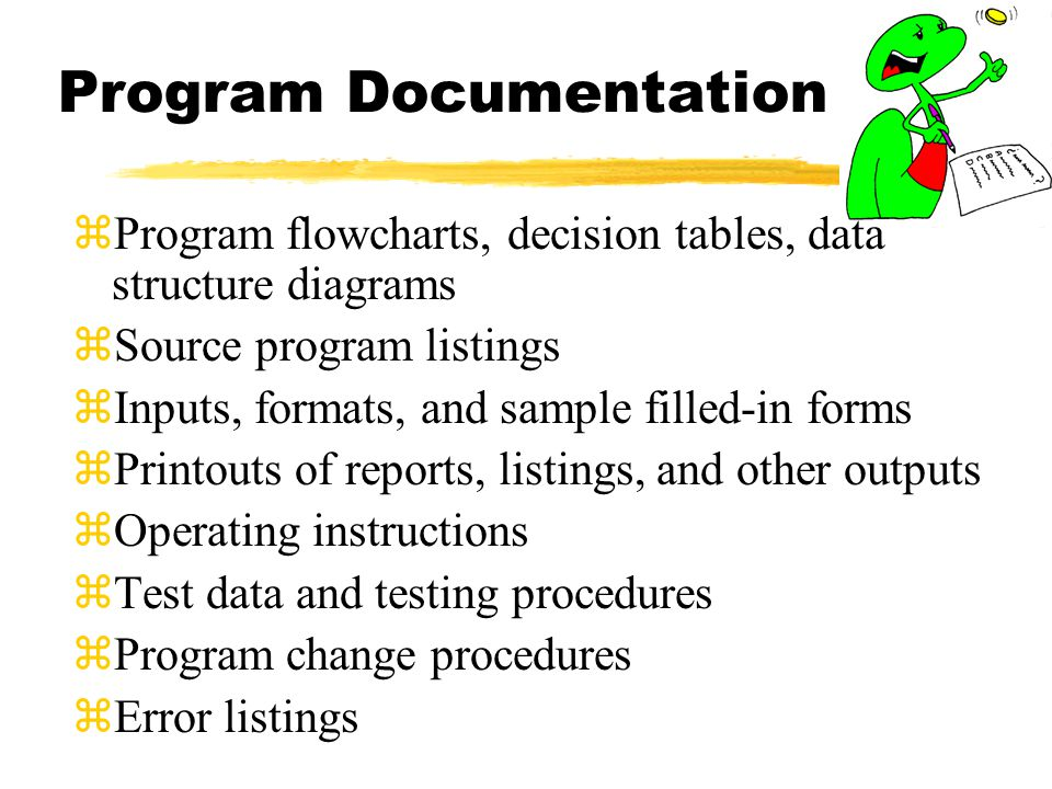 Program Documentation