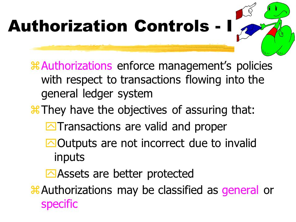 Authorization Controls - I