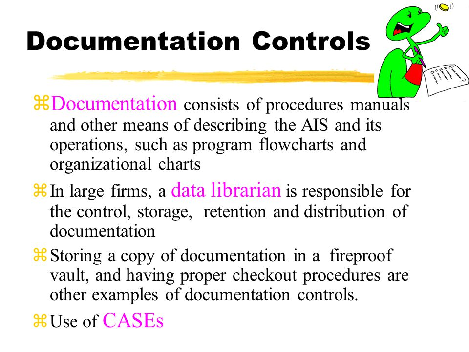 Documentation Controls