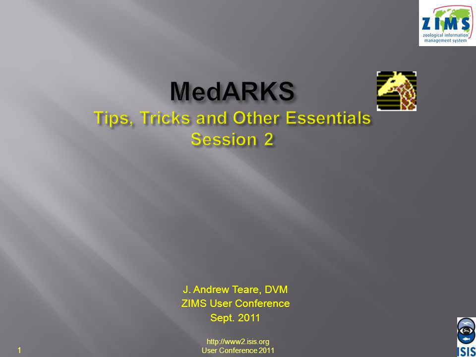 MedARKS Tips, Tricks and Other Essentials Session 2