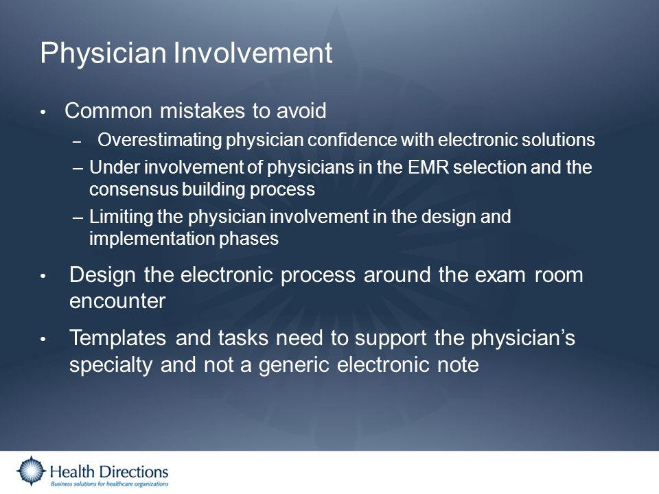 Physician Involvement