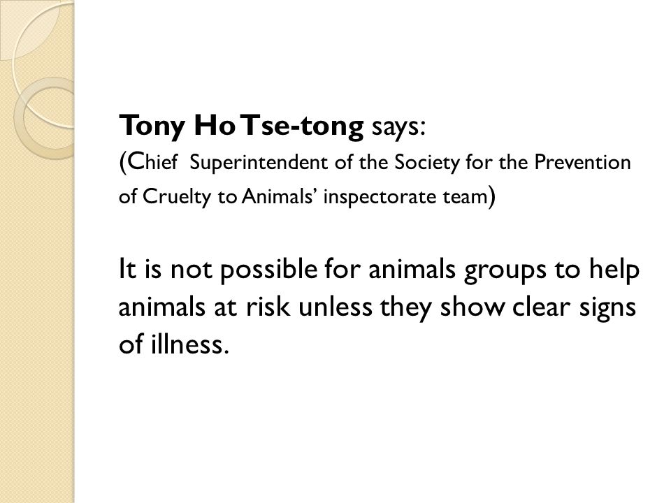 It is not possible for animals groups to help
