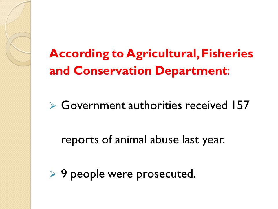 According to Agricultural, Fisheries