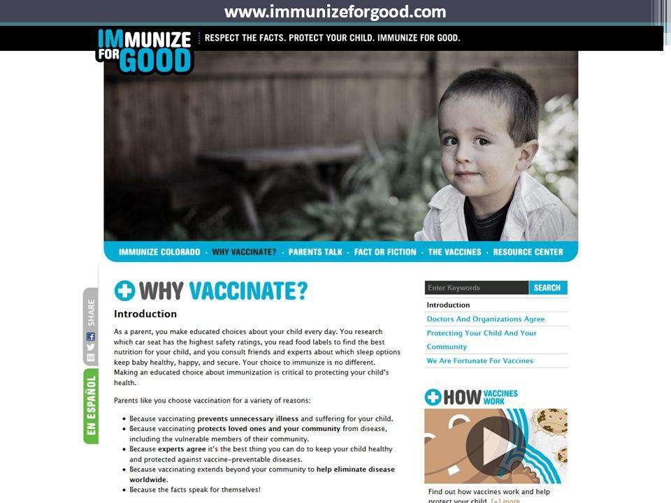 www.immunizeforgood.com