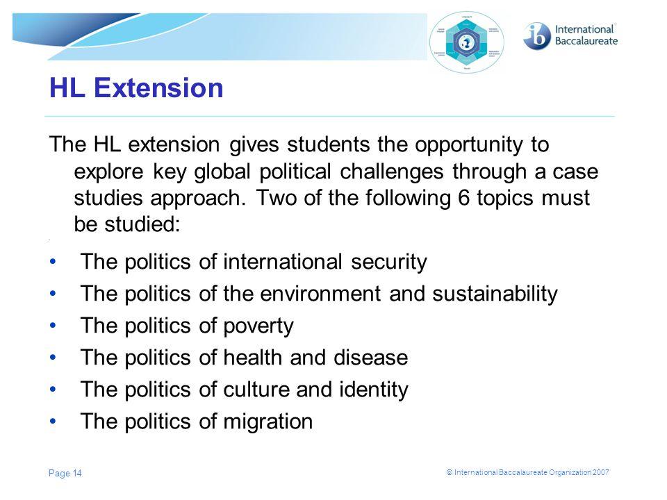 HL Extension