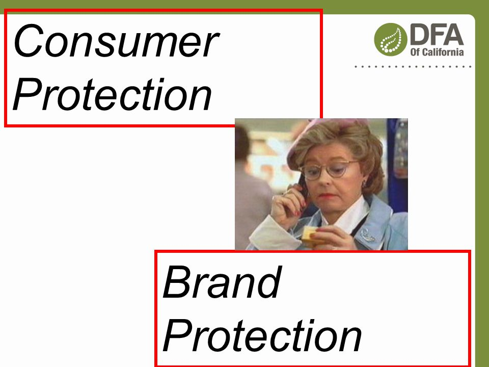 Consumer Protection Brand Protection