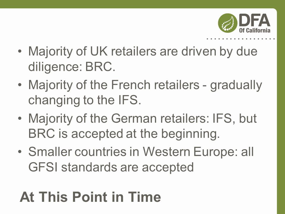 Majority of UK retailers are driven by due diligence: BRC.