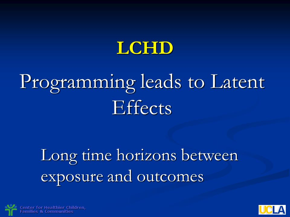 Programming leads to Latent Effects