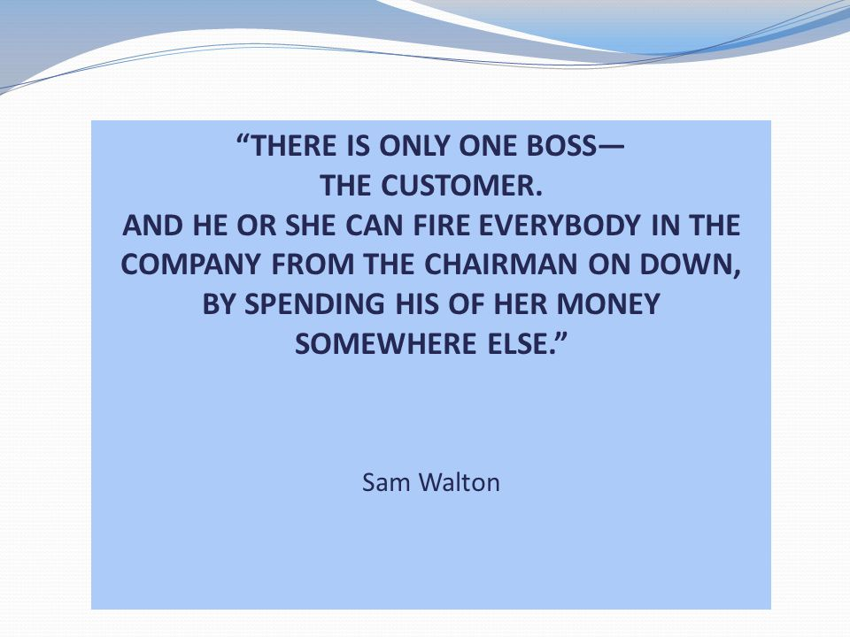 THERE IS ONLY ONE BOSS— BY SPENDING HIS OF HER MONEY