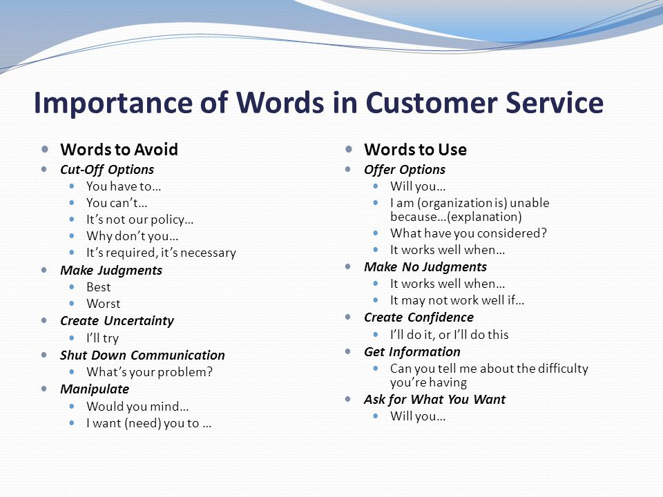 importance of good customer service essay Good customer service good customer service is all about bringing customers back due to intangibility, the customers can't feel the service, and thus causes lack.