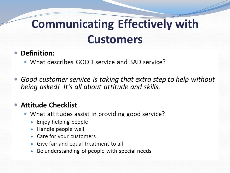 SURFING YOUR WAY TO BETTER CUSTOMER SERVICE - ppt download