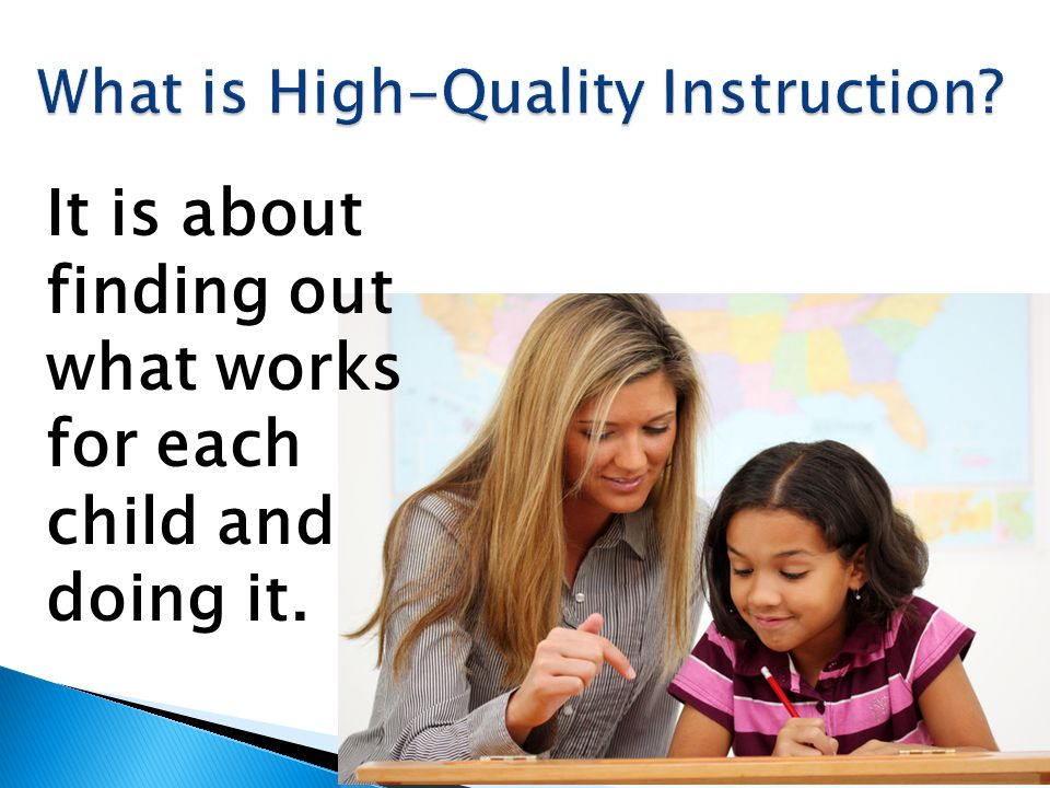 What is High-Quality Instruction