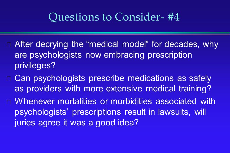 Questions to Consider- #4