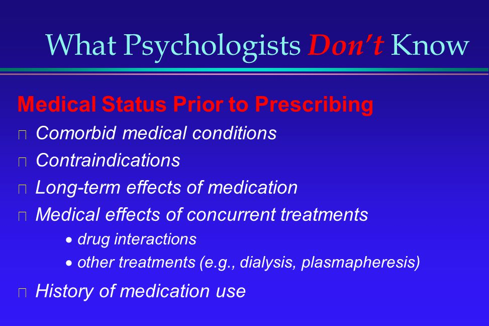 What Psychologists Don't Know