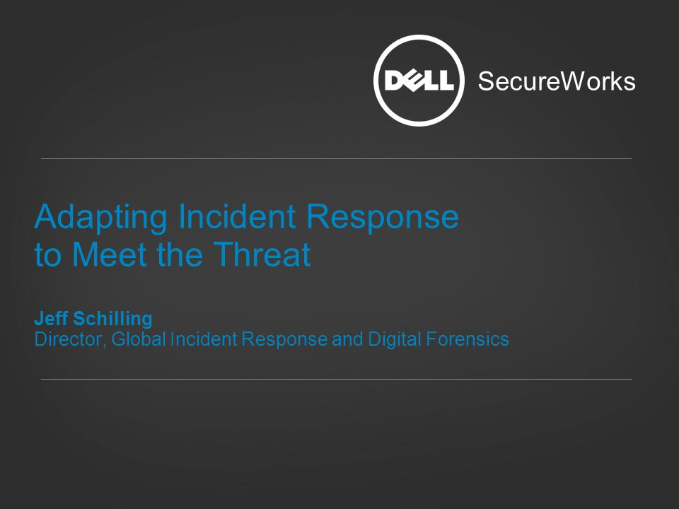 Adapting Incident Response to Meet the Threat