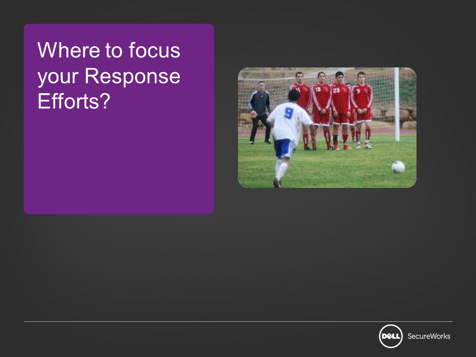 Where to focus your Response Efforts