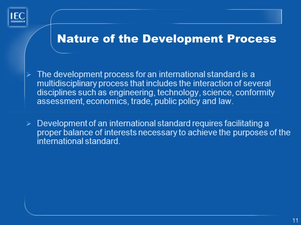 Nature of the Development Process