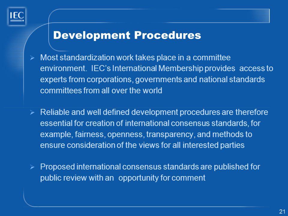 Development Procedures