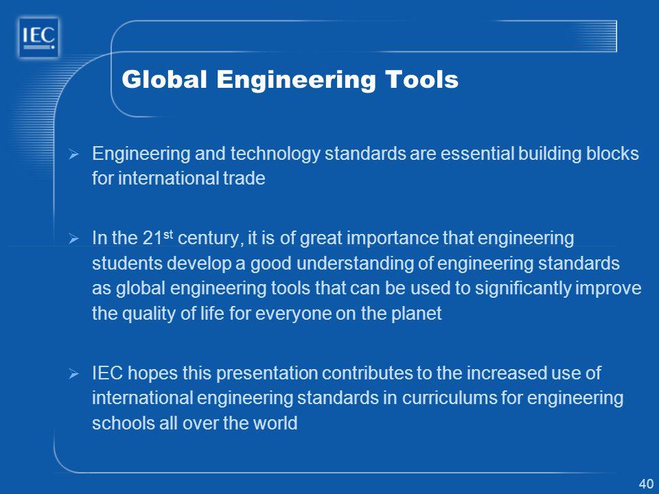 Global Engineering Tools