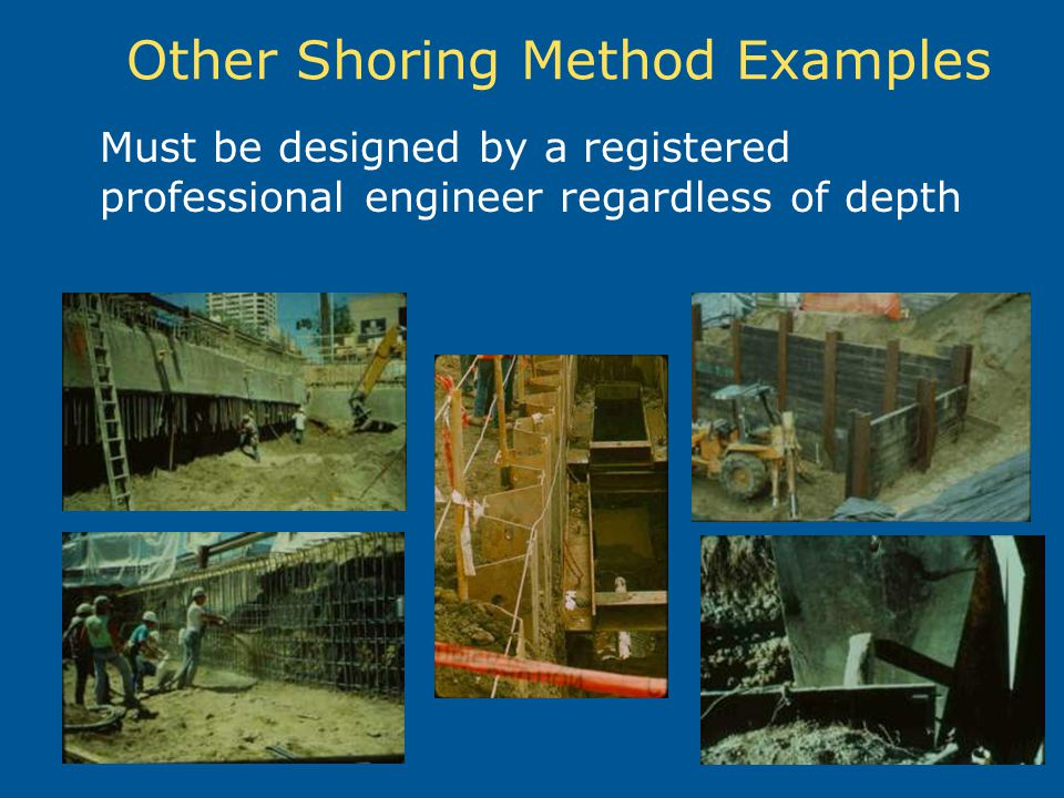 Other Shoring Method Examples