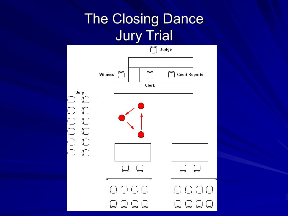 The Closing Dance Jury Trial