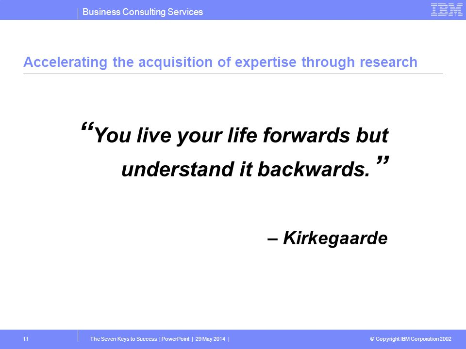 Accelerating the acquisition of expertise through research