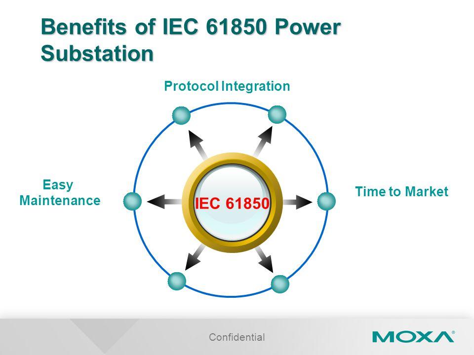 Benefits of IEC 61850 Power Substation
