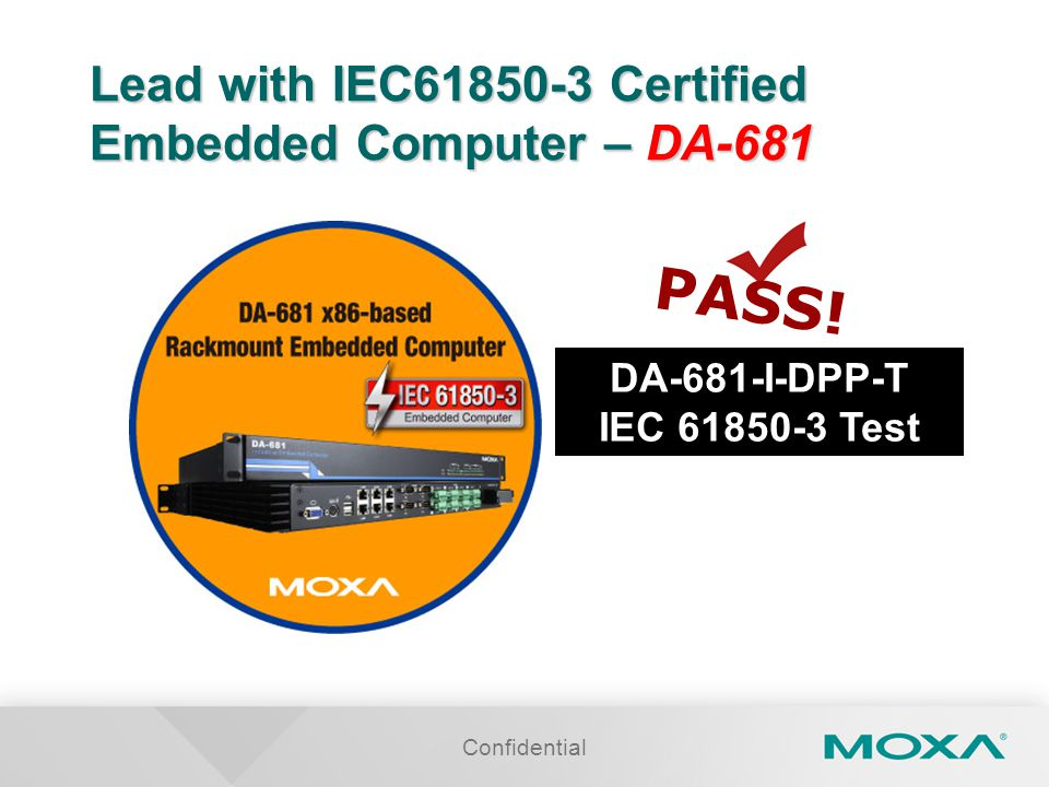 Lead with IEC61850-3 Certified Embedded Computer – DA-681