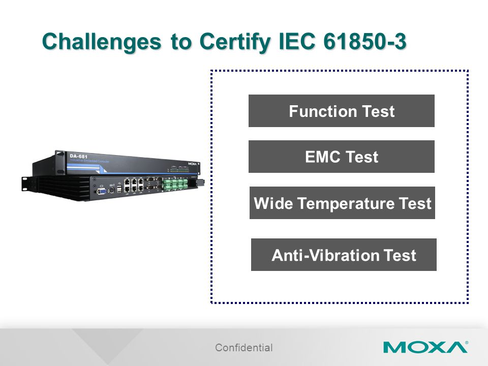 Challenges to Certify IEC 61850-3