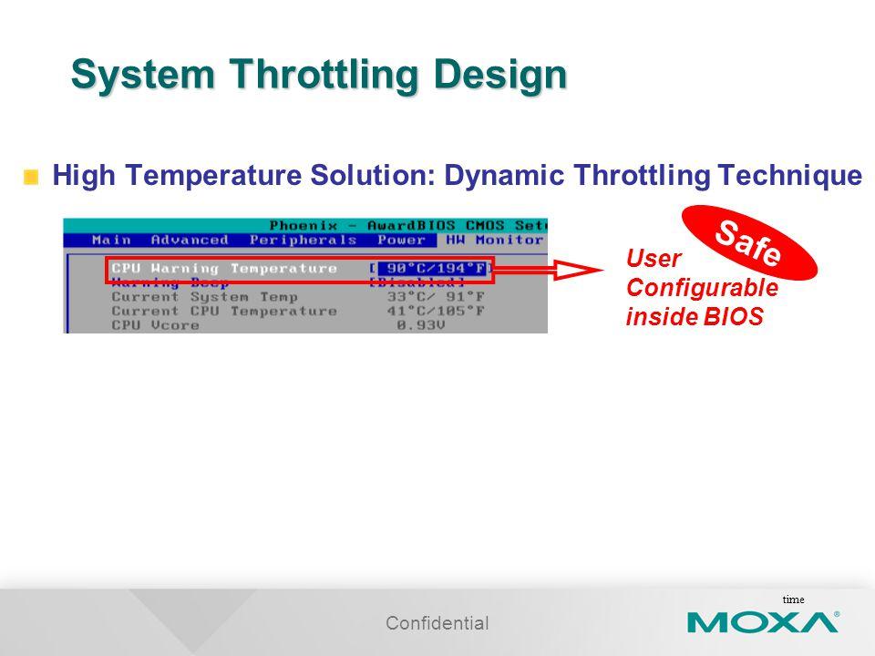 System Throttling Design
