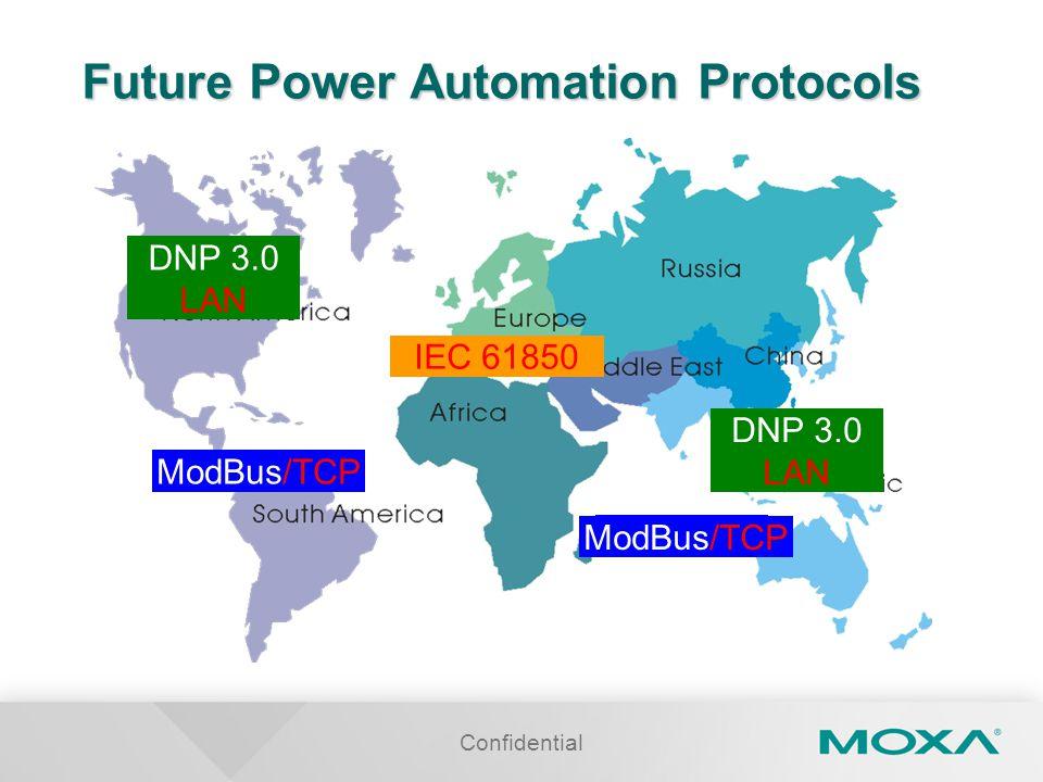 Future Power Automation Protocols