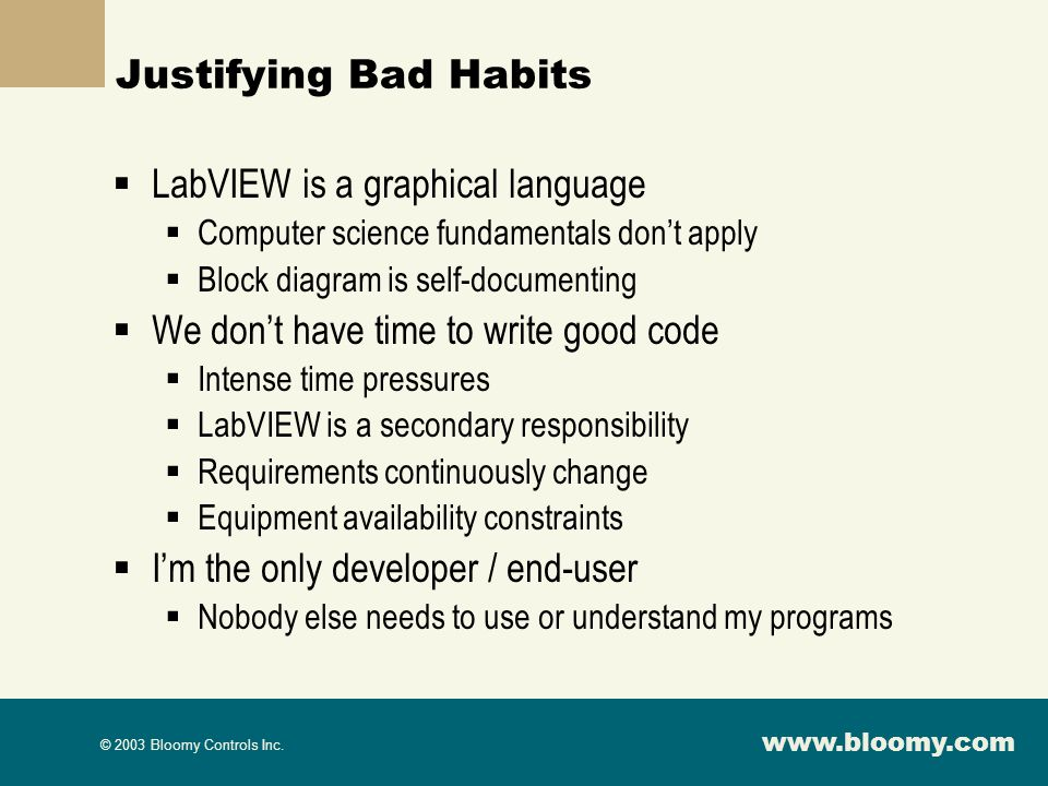 LabVIEW is a graphical language