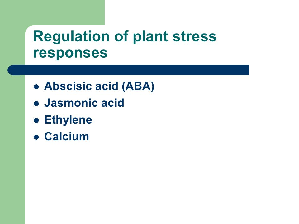 Regulation of plant stress responses