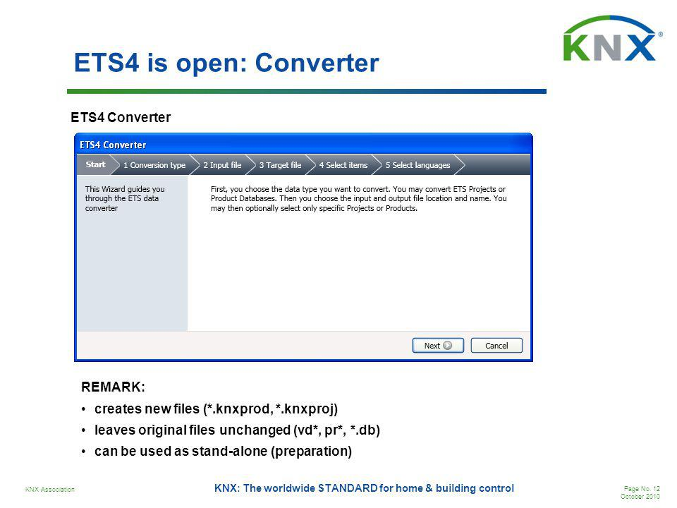 ETS4 is open: Converter ETS4 Converter REMARK: