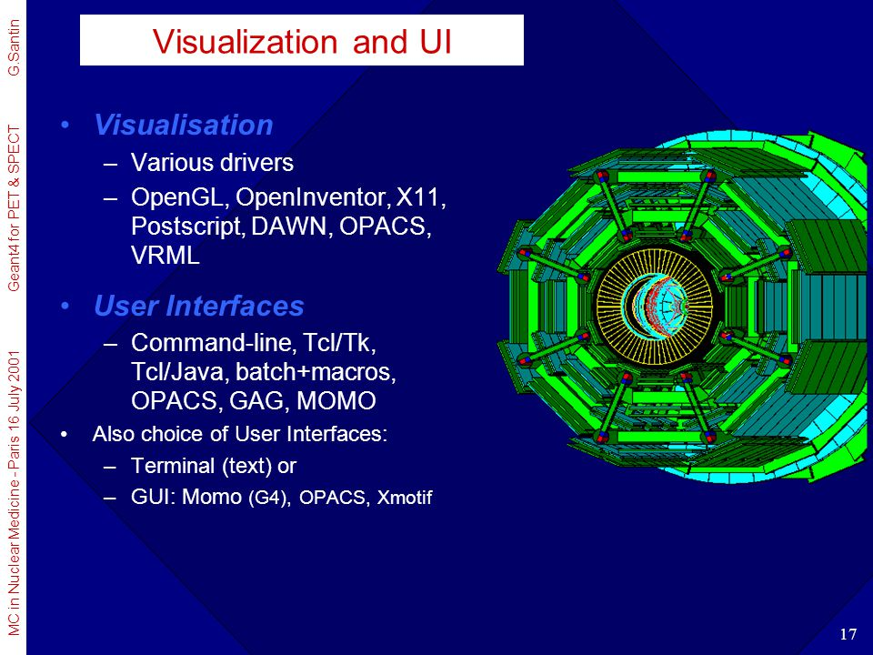 Visualization and UI Visualisation User Interfaces Various drivers