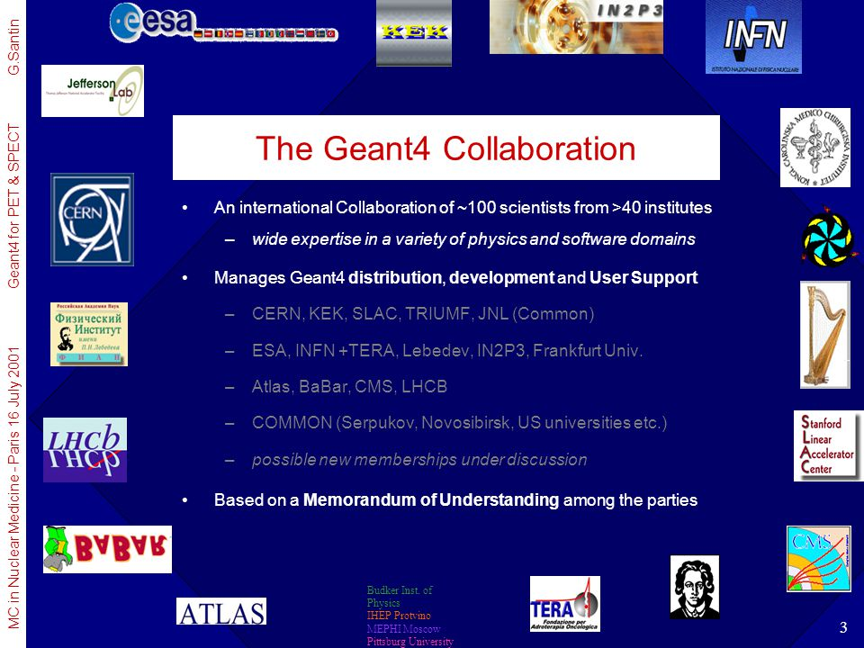 The Geant4 Collaboration