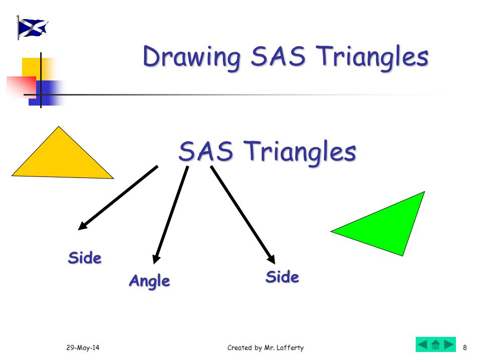 Drawing SAS Triangles SAS Triangles Side Side Angle 31-Mar-17