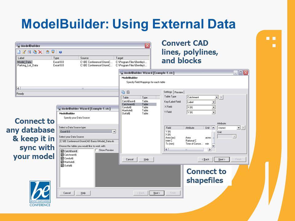 ModelBuilder: Using External Data