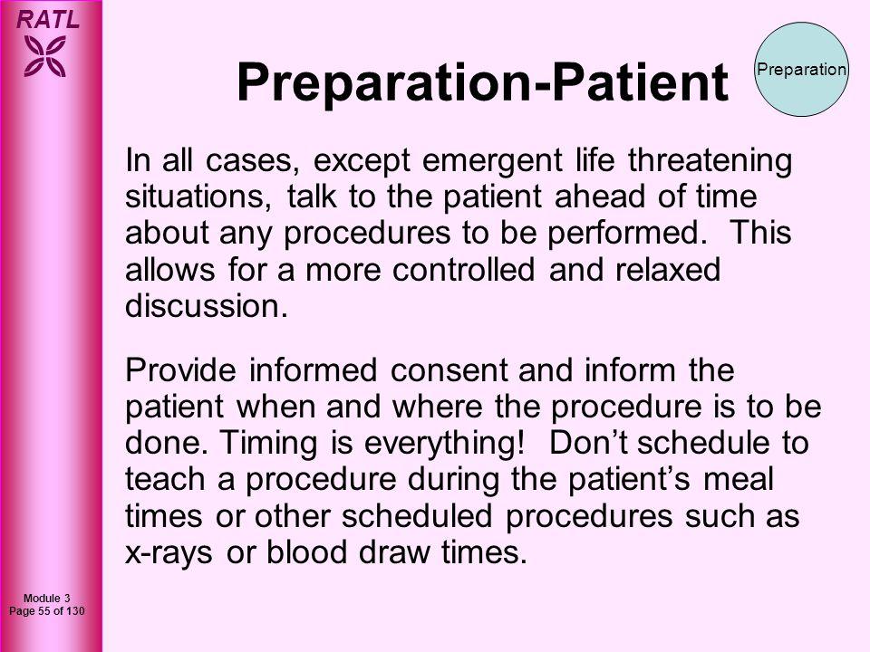 Preparation-Patient Preparation.