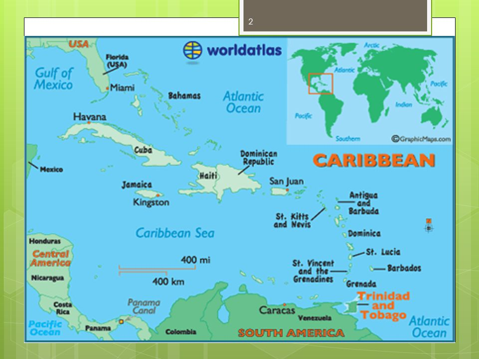 Trinidad & Tobago: Our Location